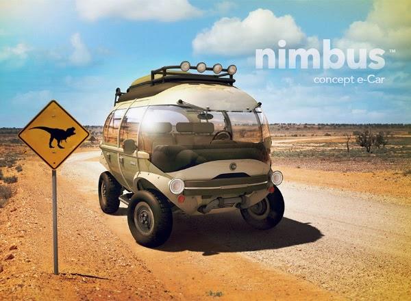 self cleaning car nimbus e car concept spicytec