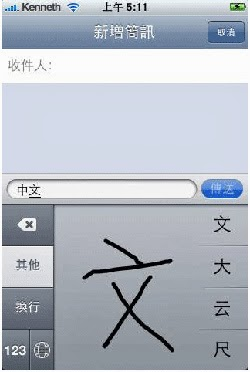 Chinese Handwriting Recognition
