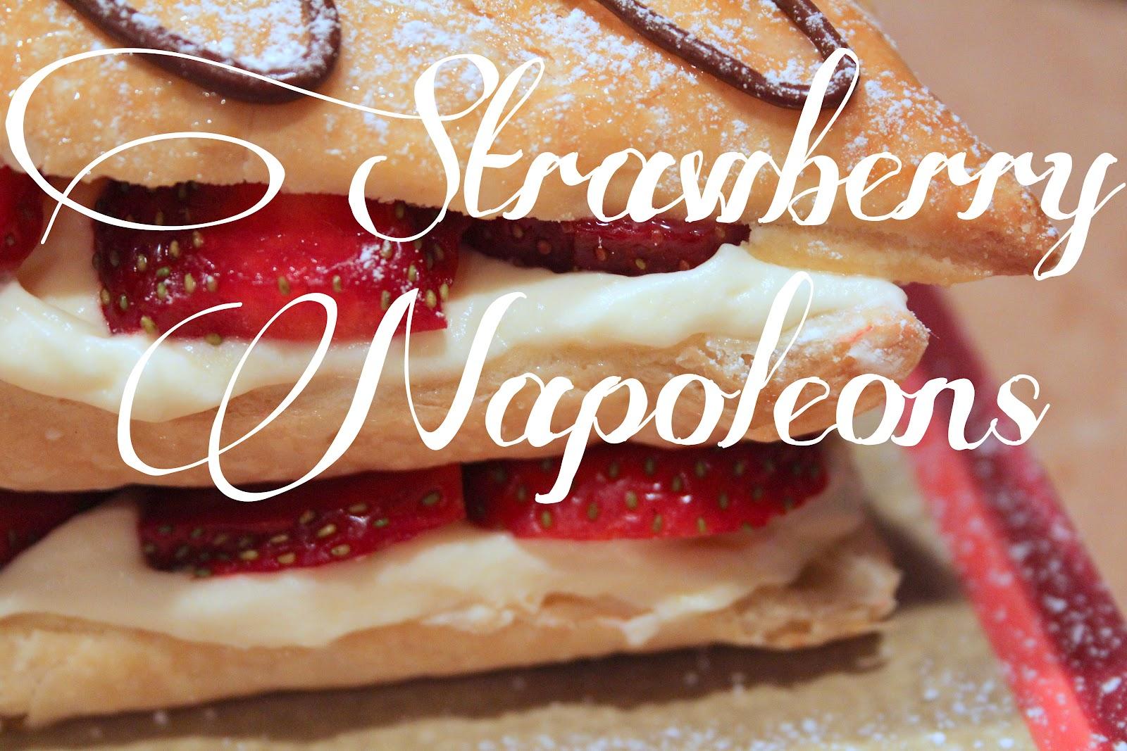 Mangia Mondays:: Strawberry Napoleons - Shine Your Light
