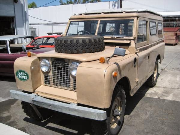 1962 land rover 109 series ii a 4x4 for sale 4x4 cars. Black Bedroom Furniture Sets. Home Design Ideas