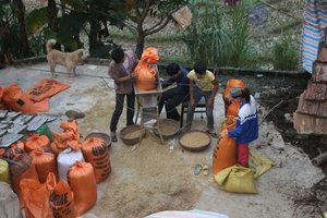 At Nùng ethnic village in Hoàng Su Phì