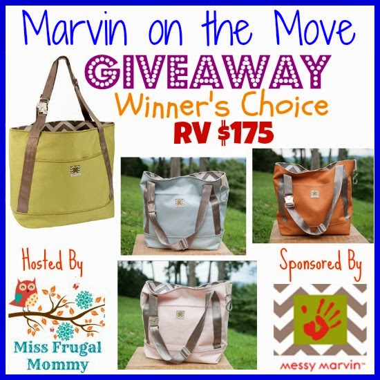 Marvin On The Move Tote Giveaway