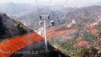 Cable Car Ride at Badaling - Great Wall of China