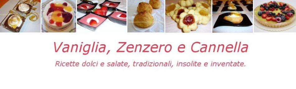 Vaniglia, Zenzero e Cannella