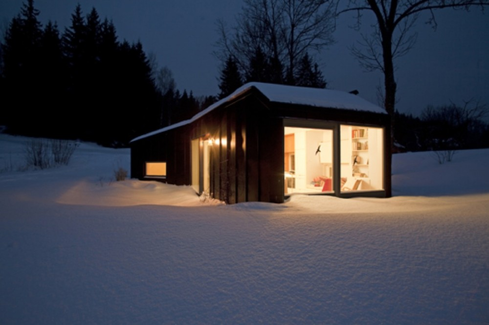 Small prefab guest house sweden modern prefab modular for House with guest house