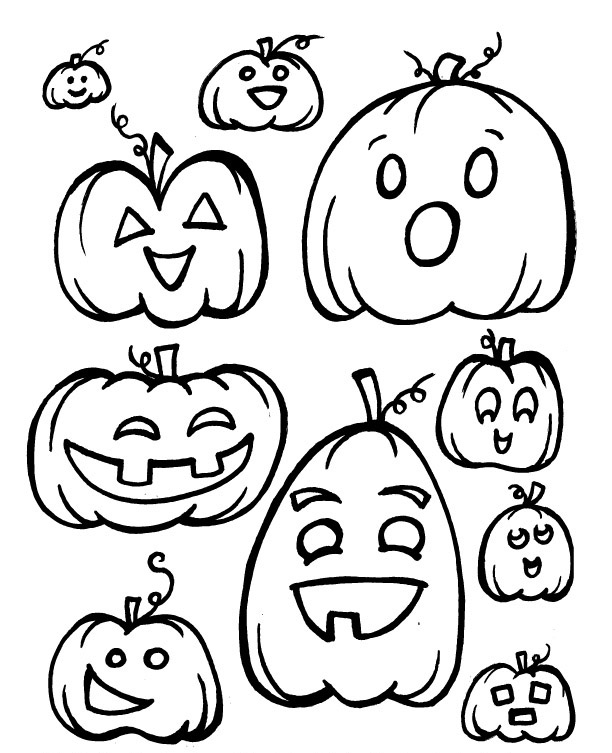 baby pumpkin coloring pages - photo#34