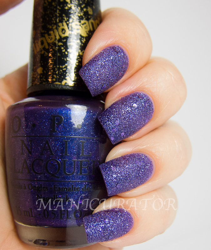 manicurator: Mariah Carey by OPI Liquid Sand Swatch and Review