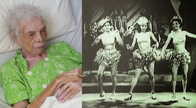 102 αιτών χορεύτρια βλέπει τον εαυτό της για πρώτη φορά σε φιλμ