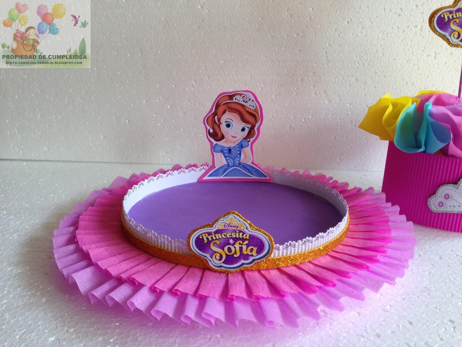 Decoraciones infantiles centros de mesa y bandejas - Decoracion de mesa de cumpleanos infantil ...