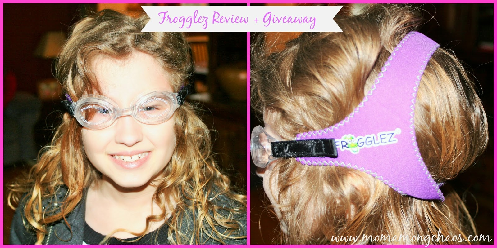 review, goggles, frogglez, giveaway, free, USA, swimming