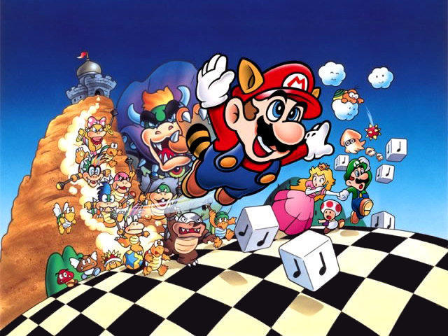 I Love Red Super Mario Bros 3 DOWNLOAD other Super Mario  : SuperMarioBros3Wallpaper640 from iloveredilovered.blogspot.com size 640 x 480 jpeg 87kB
