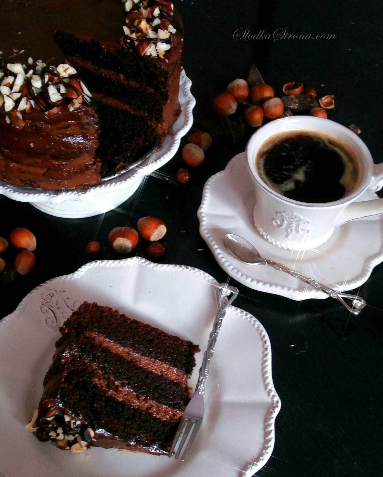 Tort Nutella - Przepis - Słodka Strona