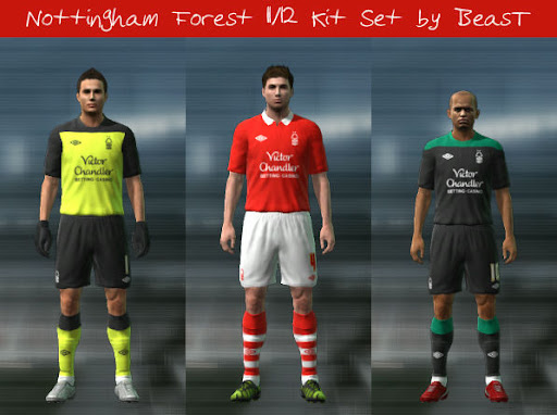 Nottingham 11/12 Kit Set by BeasT