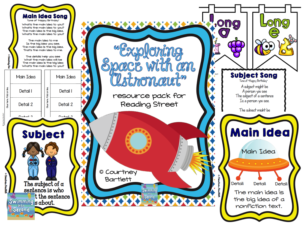 http://www.teacherspayteachers.com/Product/Exploring-Space-with-an-Astronaut-resources-for-Reading-Street-1341762
