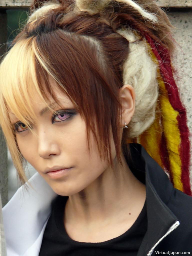 Women Fashion Hairstyle Japanese Hairstyles
