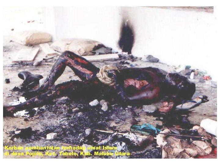 mengerikan tragis seram: korban ambon dan poso
