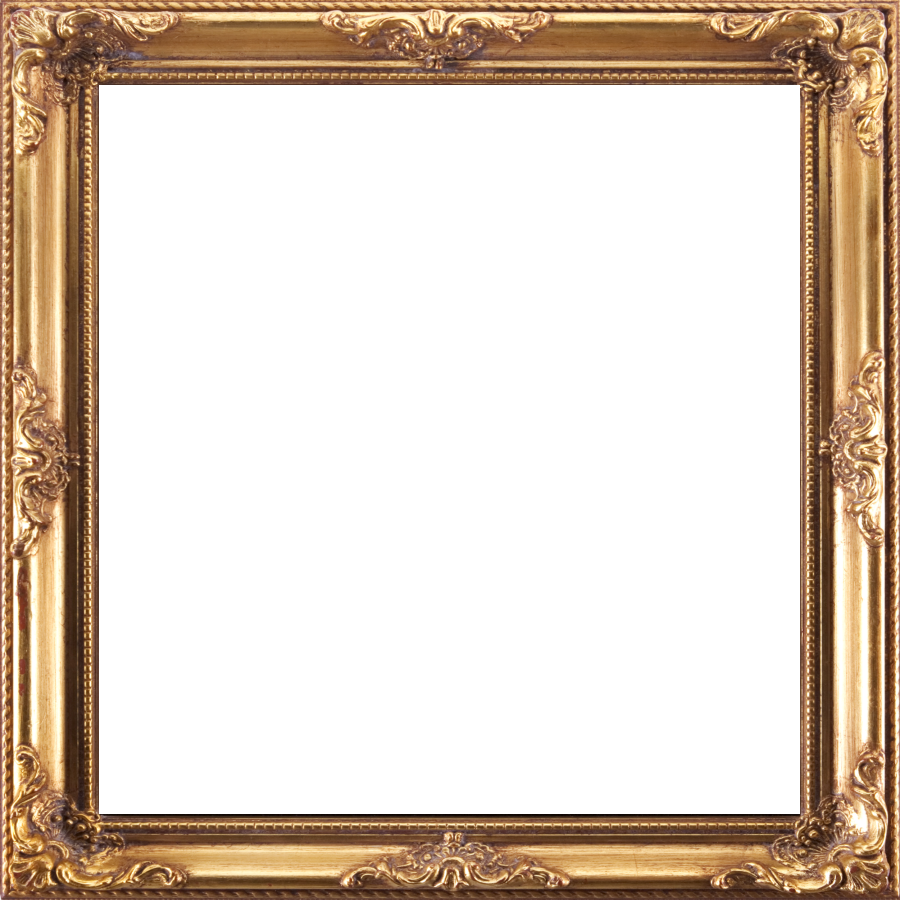 The Gallery For  &gt Antique Gold Frame Png