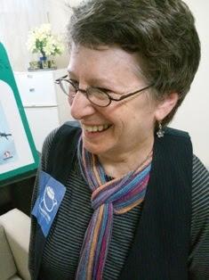 Nancy Kohn, miembro del Comité Internacional por la Paz, la Justicia y la  Dignidad de los Pueblos,