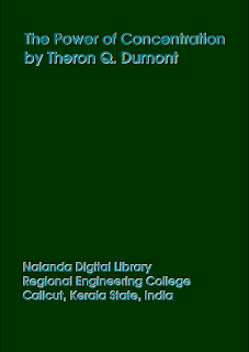 The power of concentration by Theron Q. Dumont Mediafire ebook