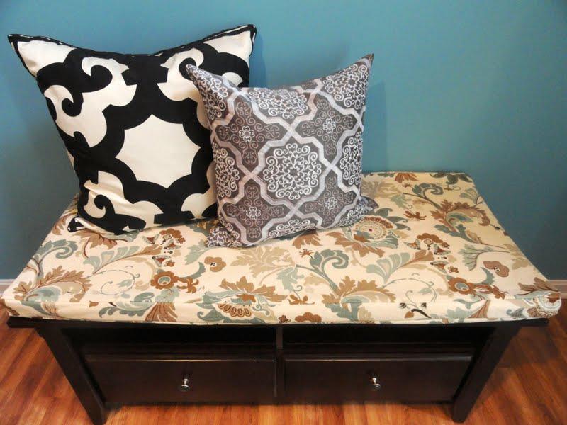 Rachel S Nest Diy Bench Cushion