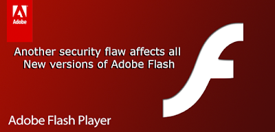Another security flaw affects all New versions of Adobe Flash