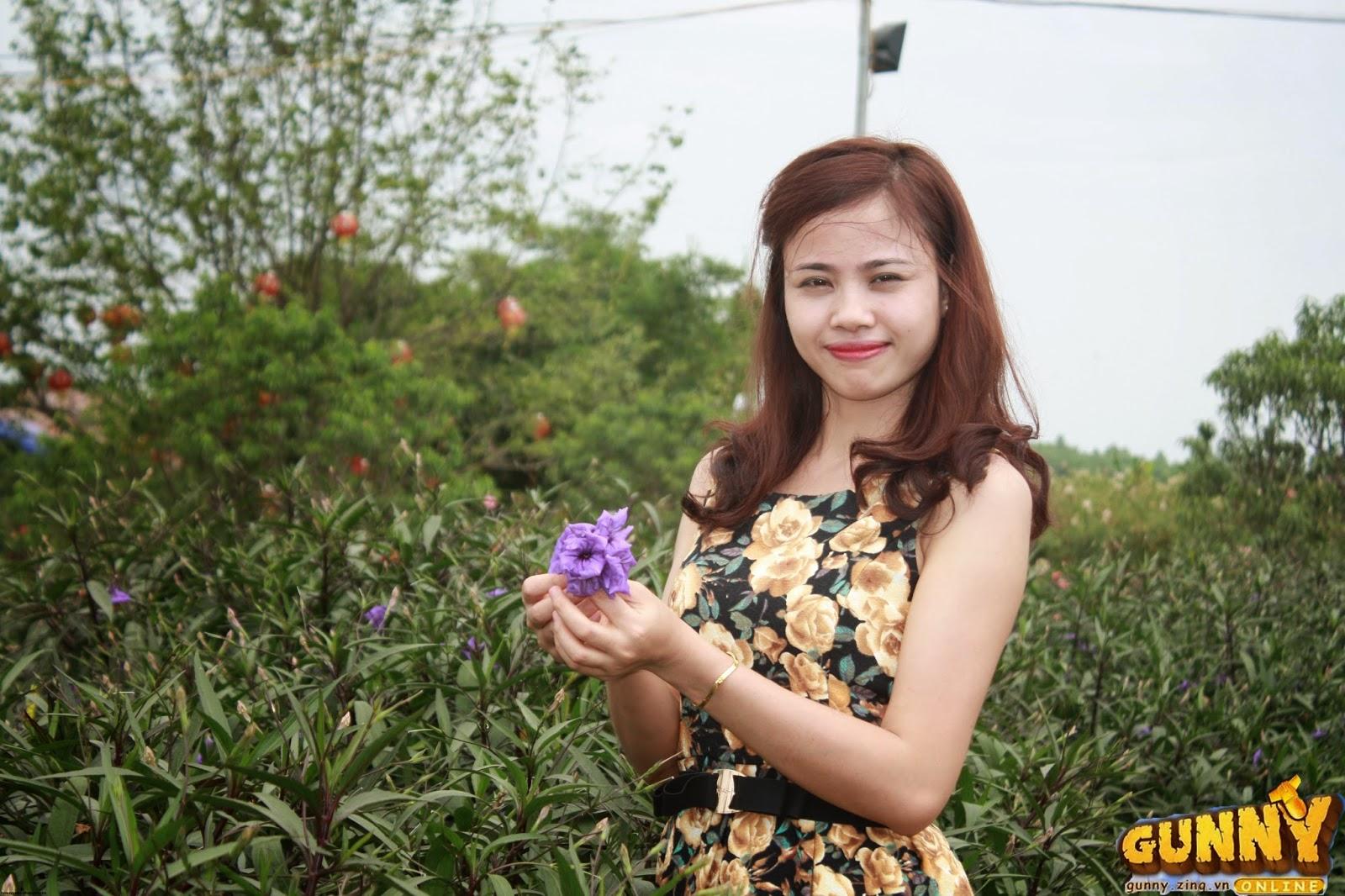 Thí sinh dự thi Nữ Hoàng Cổ Động Nguyễn Thị Thủy 2