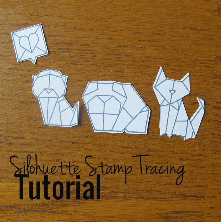 How To Trace Stamps On Silhouette Cameo