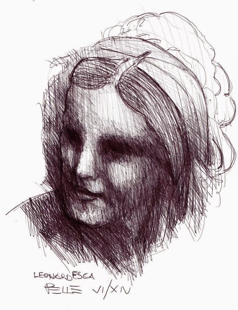 Leonardesca (...con rispetto disegnando)