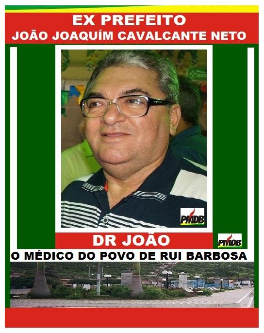 EX PREFEITO DR JOÃO RUI BARBOSA RN