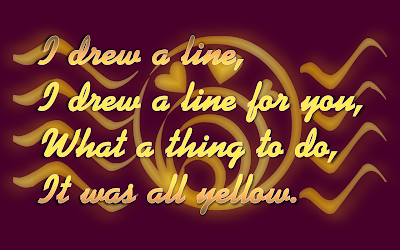 Yellow - Coldplay Song Lyric Quote in Text Image #2