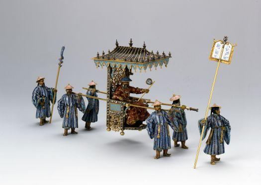 La corte del Gran Mogol