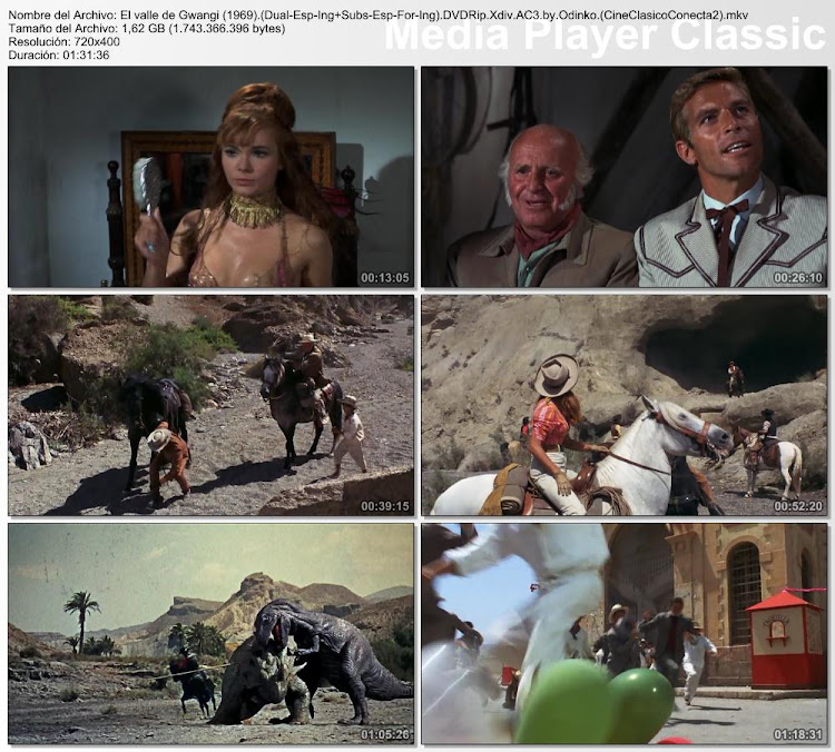 Imagenes: El valle de Gwangi | 1969 | The Valley of Gwangi