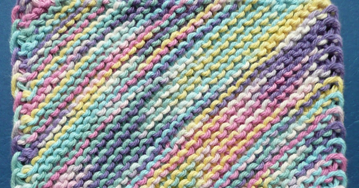 Knitting Increase Purlwise : Perfect one ounce dishcloth free patterns pattern