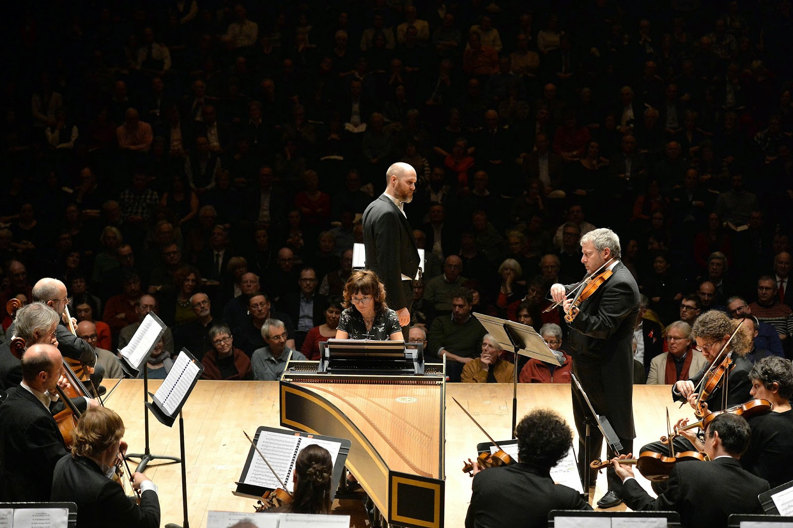 Magnus Staveland, Fabio Biondi and Europa Galante - Vivaldi's L'Oracolo in Messenia at the Barbican - photo Mark Allan/Barbican
