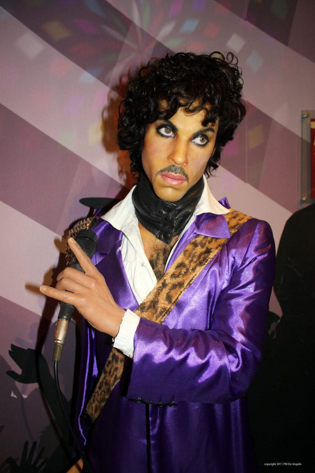 The singer Prince in t...