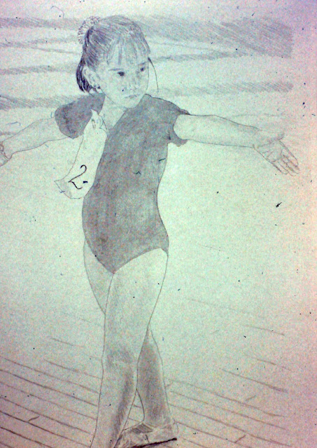 Sonoma Ballet Conservatory 1992-1993 Drawing by F. Lennox Campello