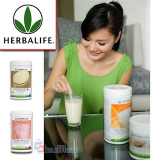 Hướng dẫn sử dụng sữa giảm cân Herbalife