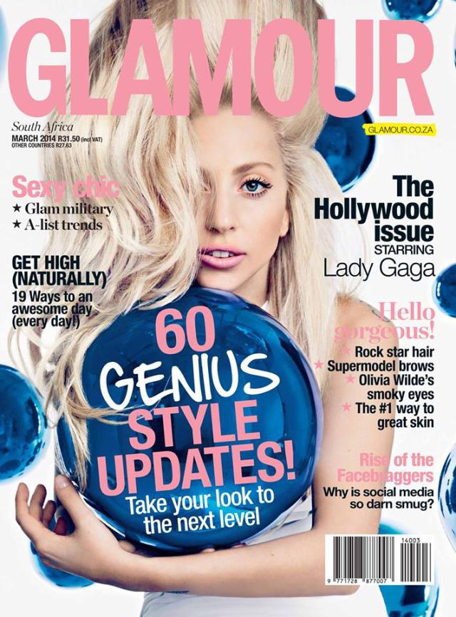 Lady Gaga en Glamour Magazine