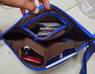gambar daleman clutch bag terbau untuk pria dan wanita