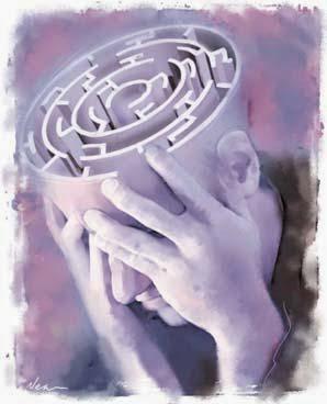 Λαβύρινθος του Νου! άγχος φόβοι. Λύση Ψυχή Φαντασία