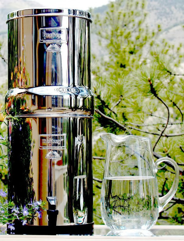 Enter to win a Berkey water filter. Giveaway ends 11/18 at midnight.