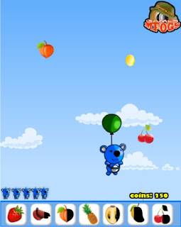Game Online Blue Panda Fruits Catcher