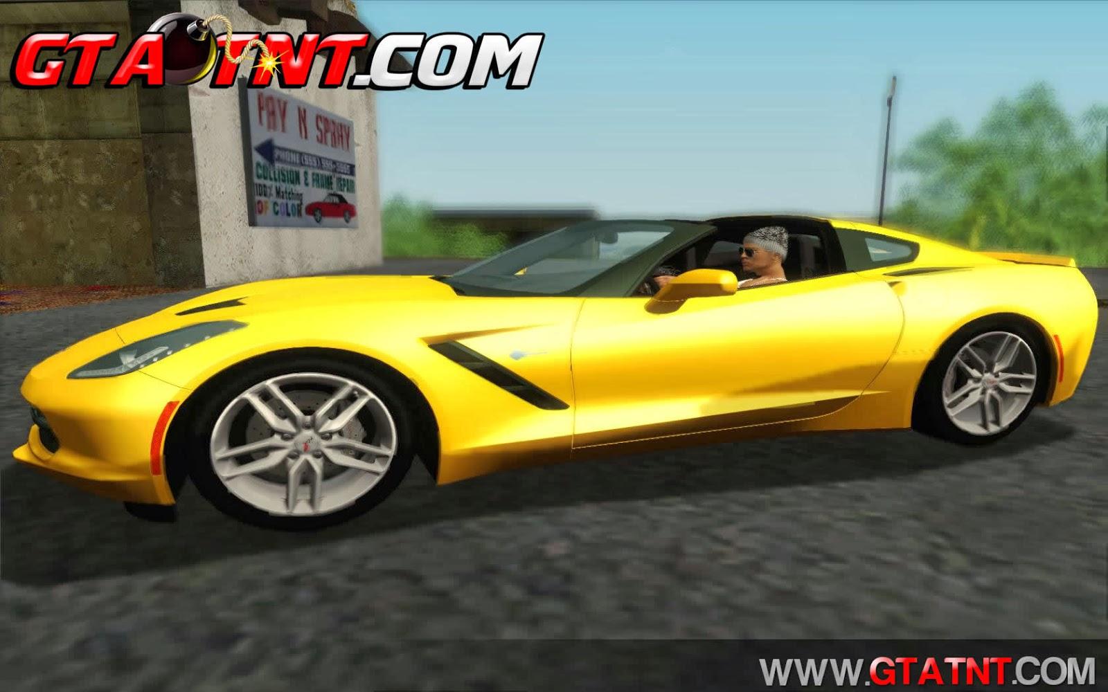 GTA SA - Chevrolet Corvette C7 Stingray 2014