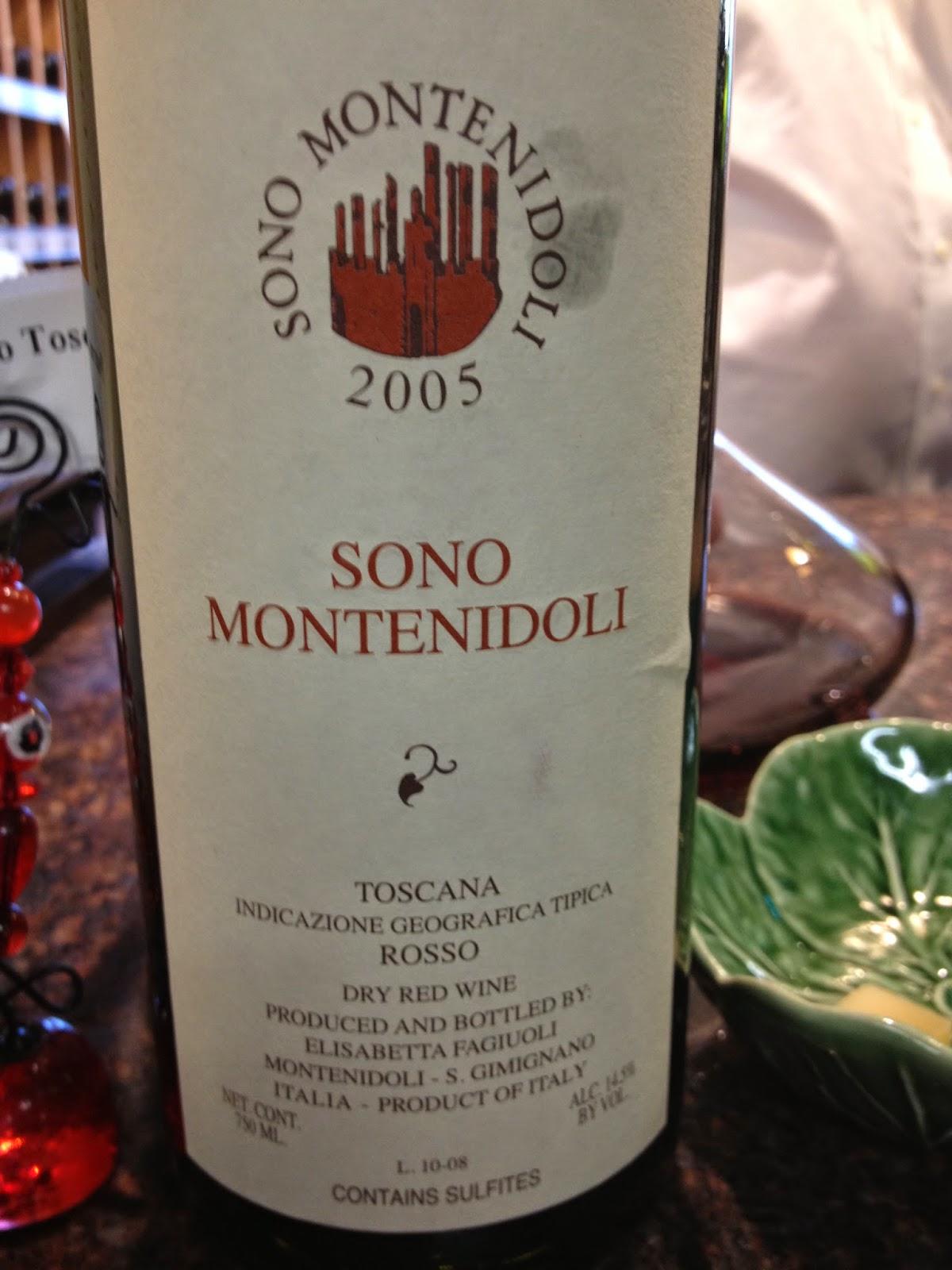 2005 Sono Montenidoli sangiovese