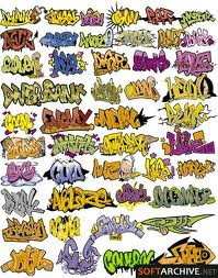 300 adet graffiti yazı tipi font tek link