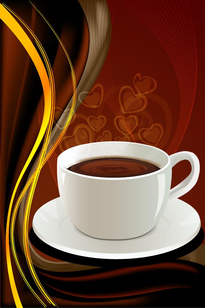 Free Vector がらくた素材庫: コーヒー カップ Vecto...  コーヒー カップ