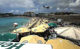 Top Cam: Maho Beach