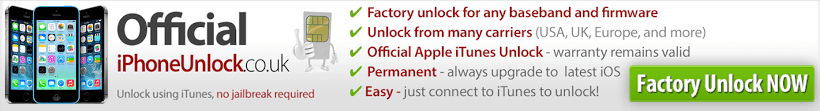 Official iPhone Unlock