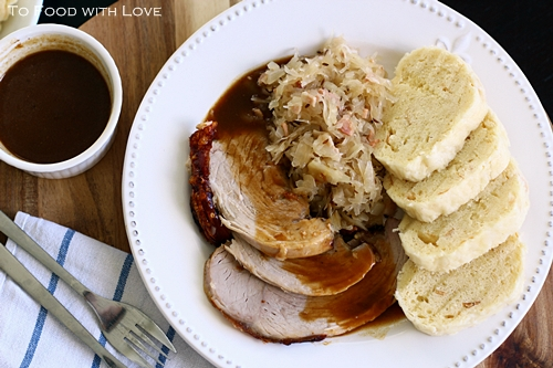 To food with love vepro knedlo zelo czech roast pork with a few weeks ago we had a team lunch at tony romas and naturally at some point we talked about food allergies cooking etc forumfinder Images