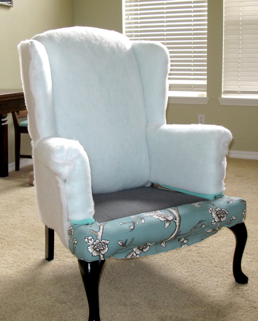 Reupholster wingback chair - Reupholster Wingback Chair 6